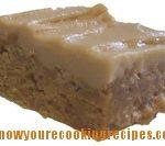 peanut butter square