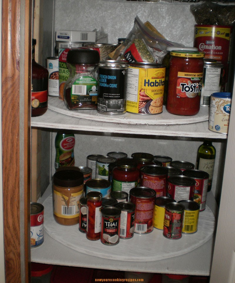 Organizing Pantry Shelves Realistically Organized Pantries: New Pantry Organization